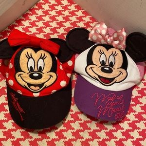 Disney Minnie Youth Hat Bundle
